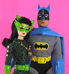 Catwoman Barbie, ca.  1967