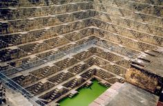 stepwell watering hole near Amber Fort, India