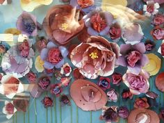 Rachel Leising Soo - Blog - Paper flowers at Anthropologie