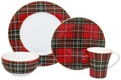 222-Fifth-Wexford-Red-Material-Porcelain-Dishwasher-Safe-Dinnerware-Set-16-Pc