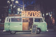 The ShutterBus Photo Booth, available to rent for Colorado Weddings.  An awesome, retro, unique, fun, charming alternative to the traditional photo booth.