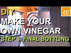 DIY Make Your Own Apple Scrap Vinegar | Step 3 Apple Cider Vinegar, Apple Recipes, Organic Recipes, Free Food, Make Your Own, Diy And Crafts, Scrap, Pickles, Colorful
