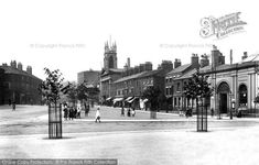 Macclesfield, Park Green 1897, from Francis Frith