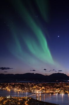 My dream since I was small is to watch Aurora Borealis or also known as Northern Lights. This was taken in Tromso, Norway.