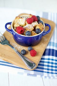 Baked French Toast in a Jar