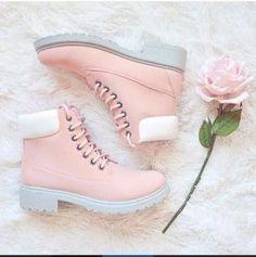 shoes colorful pink light pink pink boots flat boots pastel pink pink shoes boots pastel pastel goth pastel grunge aesthetic aesthetic tumblr aesthetic grunge tumblr aesthetic pale aesthetic kawaii kawaii grunge kawaii dark timberlands baby pink gorgeous grey