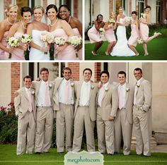 I've never wanted a pink wedding, but this is the best I've ever seen one!