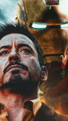 Ironman Tony Stark and his armor iPhone wallpaper - Avengers Endgame Iron Man Avengers, Marvel Avengers, Marvel Comics, Marvel Memes, Iron Man Wallpaper, Tony Stark Wallpaper, Wallpaper Art, Screen Wallpaper, Bucky