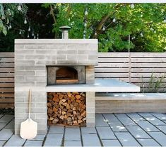 brick pizza oven outdoor Do you fantasize about creating your next culinary masterpiece from the comfort of your own backyard? Here are a handful of inspired outdoor kitchen ide Pizza Oven Outdoor, Outdoor Cooking, Modern Outdoor Pizza Ovens, Home Pizza Oven, Pizza Oven Outside, Brick Oven Outdoor, Modern Outdoor Living, Fireplace Outdoor, Parrilla Exterior