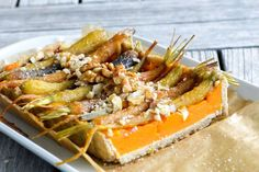 Red Kuri squash pie Recipe on Kuri Squash Recipe, Red Kuri Squash, Raw Food Recipes, Veggie Recipes, Veggie Meals, Vegan Food, Carrot Pie Recipe, Glazed Baby Carrots, Squash Pie