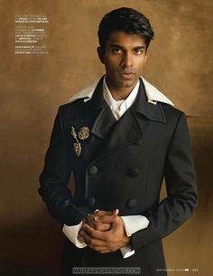 Nikesh Patel por Kenneth Lam para GQ India Septiembre 2016