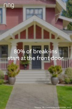 Burglars know that traditional security systems are ineffective, allowing them to just walk right in. Learn how you can keep your front door secure with smart technology, like Ring Video Doorbell. Home Security Tips, Security Systems, Security Cameras For Home, Ring Video Doorbell, Survival Mode, Smart Technologies, Smart Home, Doors, Technology
