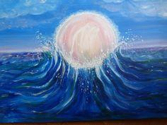 Peinture sur toile : L'esprit de l'eau : Peintures par marie-lumiere