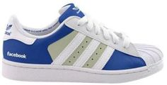 Love these - a selection of social media-inspired sneakers! Basket Adidas Superstar, Adidas Sneakers, Shoes Sneakers, Baskets Adidas, Superstars Shoes, Sneakers Looks, Star Wars, Vogue, Italian Shoes