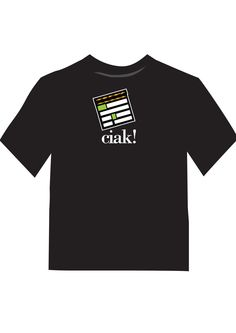 CInemecum - cinema web site. Tshirt. (Ciak!)