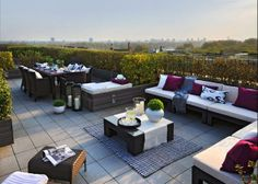 1000 images about modern home rooftop patio furniture for Roof terrace definition