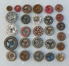 27 VINTAGE OLD VALVE HANDLES FAUCET KNOBS STEAMPUNK INDUSTRIAL ART in | eBay
