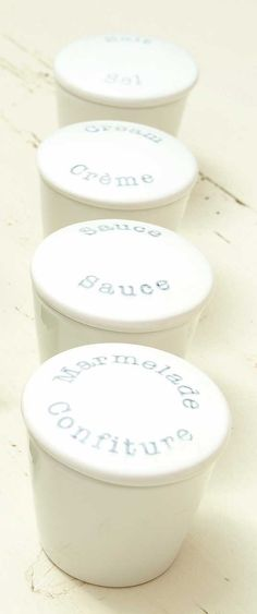 Sweet small jars with lid