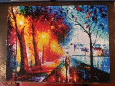A fun little pixelly tribute to a painting called 'Night Alley', by one of my favorite contemporary artists Leonid Afremov... I found out when I started putting this together that he actually has a...