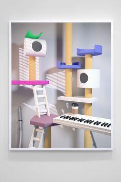 Takeshi Murata, Condos, 2012, pigment print | Kasia Michalski