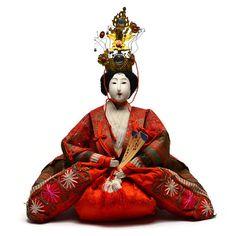 Impressive Antique Hina Ningyo. Japanese Antique by templeMARKET