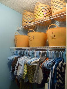 Closet Kids' Closet Organizing