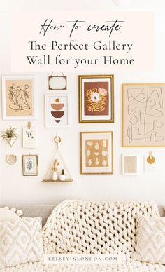 Boho Bedroom Decor, Boho Room, Bedroom Wall Decorations, Bohemian Wall Decor, Bedroom Ideas, Gallery Wall Bedroom, Gallery Wall Art, Modern Gallery Wall, Gallery Walls