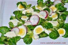 Tarta cu legume - CAIETUL CU RETETE Mozzarella, Cobb Salad, Diet, Salads