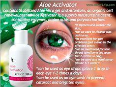 Aloe Activator Order at www.nina49.flp.com