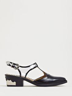 50f1f9b1349dc Toga Women s Transparent Strap Shoes Clear Shoes