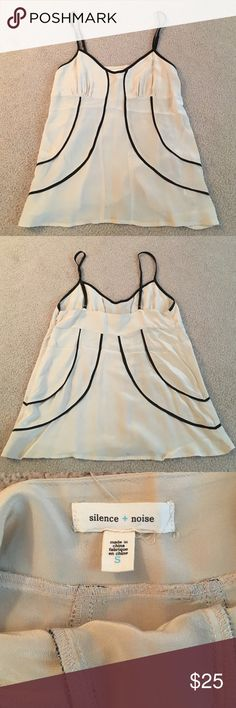 Urban outfitters silence and noise tank Adjustable straps, zipper on side silence + noise Tops Blouses