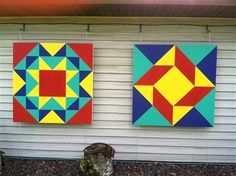 """""""Minnesota Star"""" and """"Windblown"""" - Quilters Club of America"""