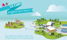 La CAPI soigne son eau : retour sur l'identité imaginée par l'agence de communication Comète