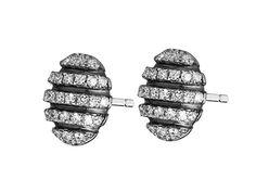 Kolczyki srebrne z cyrkonią | Apart