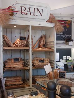 Boulangerie, Côte d'Azur (photo de Talia Valeriote)