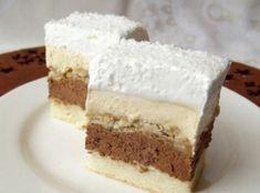 Ez nálunk is tuti nyerő lesz! Hungarian Desserts, Hungarian Cake, Romanian Desserts, Romanian Food, Cake Bars, Torte Cake, Healthy Cake Recipes, Sweet Recipes, Cookie Recipes