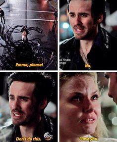 "OUAT 4x22 Emma and Killian ""I love you"""