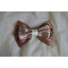 steam goth lolita harajuku romantic victorian hair bow princess bow... ($11) ❤ liked on Polyvore featuring costumes, gothic halloween costumes, goth costume, gothic costumes, princess halloween costumes and victorian gothic costumes
