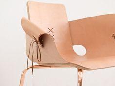 Shoemaker chair la chaise à lacets par Martín Azúa //admired by http://www.truelatvia.com