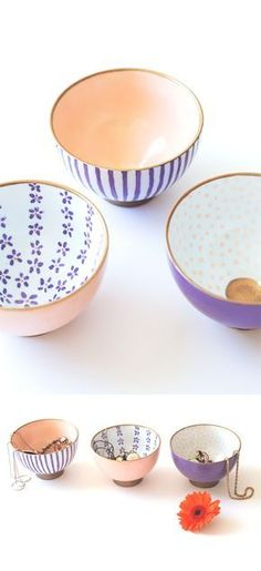 DIY Gifts for Women | Anthropologie DIY Hack | DIY Painted Dishes | DIY Projects & Crafts by DIY JOY
