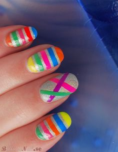Cute and wouldn't be too hard if use stencils or tape of some sort