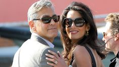 George and Amal look impossibly glam in Venice.    Eating my heart out weekend!