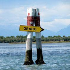 Segnaletica marina 😀🚣🏻⚓️🚩#grado #laguna #lagunabeach #bricoea #segnaletica #f4f