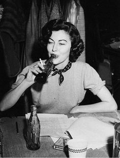 ava gardner - it was always said she could drink and party all night and still look beautiful for her close-up in the morning.