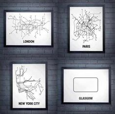 ... the Glasgow subway system