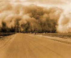 The Dust Bowl of the 1930's was one of the worst natural disasters in american history.