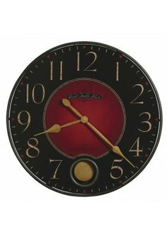 Antique Dial Framed in Wrought Iron, Quartz Movement, 625-374 Harmon Howard Miller Wall Clock