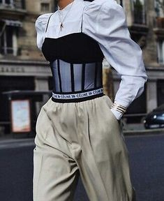 @ OMG..THESE  CELINE  ICONIC LOGO WAISTBAND PANTS IN BEIGE... Classy Outfits, Cute Outfits, High Fashion, Womens Fashion, Fashion Outfits, Fashion Trends, Ideias Fashion, Autumn Fashion, Fashion Looks