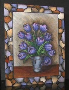 MMTPT142, Bucket of Tulips