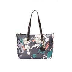 Charlotte, Floral Prints, Shoulder Bag, Tote Bag, Bags, Shopping, Fashion, Handbags, Moda